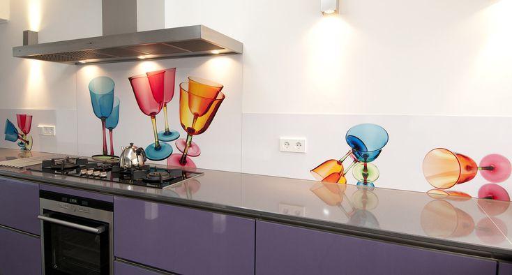 Glaswand Keuken Foto : 1000+ images about Glaswand keuken met afbeelding – Backsplash with