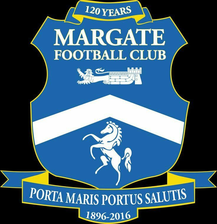 Margate FC of England crest.
