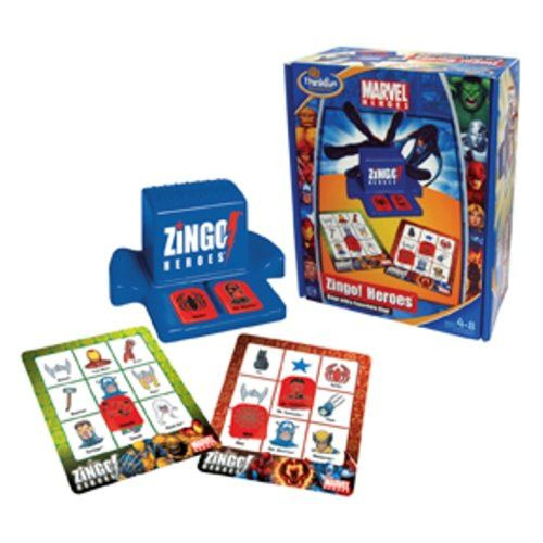 Zingo Marvel Heroes - Bingo with a Super Hero Zing