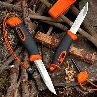 Campfire Starter Knife THE BACKPACKER'S ALL-IN-ONE CAMPING KNIFE