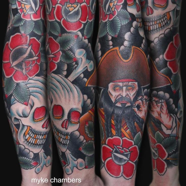 : Tattoo Ideas, Schools Tattoo, Tradicion Tattoo, Tattooer Myke, Sleeve Inspiration, Pirates Tattoo, Rats And What Is What Is, Design Tattoo, Inspiration Tattoo