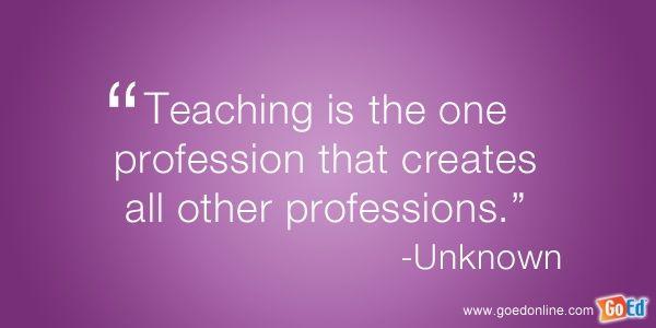 Teaching quote quotes