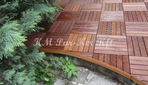 outdoor wood flooring