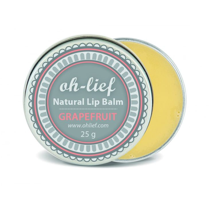 Oh-Lief Natural Olive Lip Balm - Grapefruit is a summery balm that will leave your lips soft, moisturised and naturally shiny. Full of organic oils, beeswax and grapefruit oil, this lip balm contains no harmful chemicals.