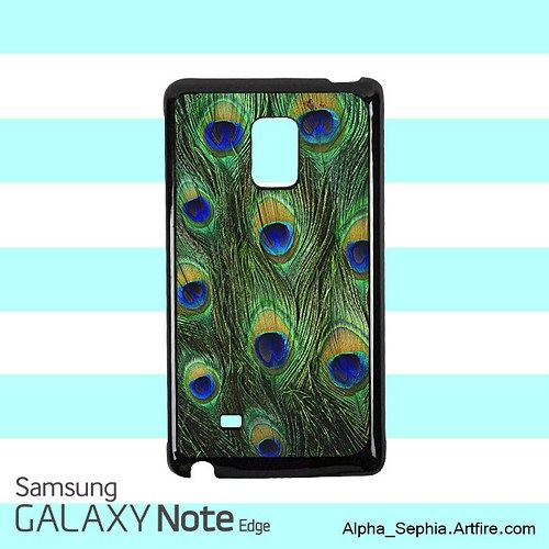 Peacock Feathers Samsung Galaxy Note EDGE Case Cover