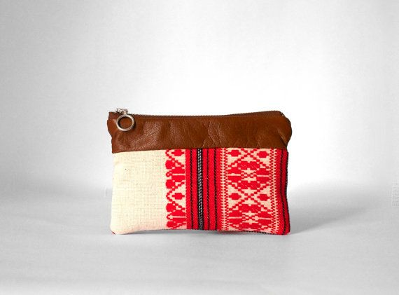 Boho Brown Phone Wallet /Iphone wallet /Iphone case/ by morelle, $19.00
