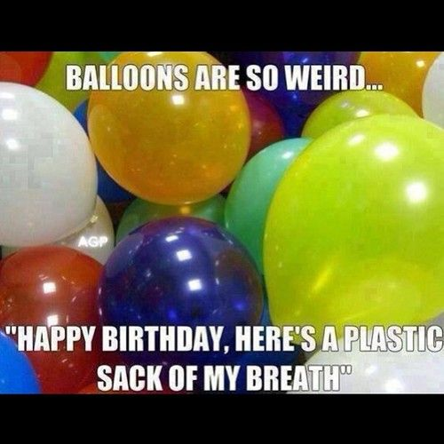 Now I am estranged to balloons. Thanks, Pinterest.