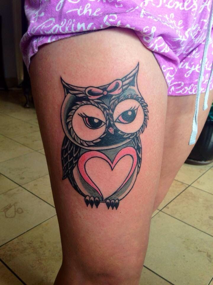 Tattoo nightmares owl cover up tattoo yoe for Tattoo nightmares shop appointment with jasmine