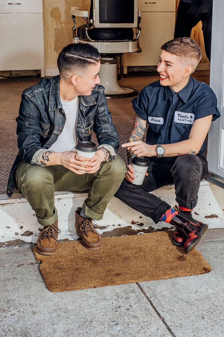 """Why Women Are Opting Out Of The Hair Salon #refinery29  http://www.refinery29.com/women-mens-barber-shop-haircuts#slide-6  Lucia has seen an uptick in women in the shop of late — her client base is about 20% female. She doesn't prefer cutting men's or women's hair, she just prefers cutting it short — which she sees a lot more women doing these days.""""Girls are really cutting their hair off more than ever right now,"""" she says. """"I think [many] always wanted to do it, but didn't feel like they…"""