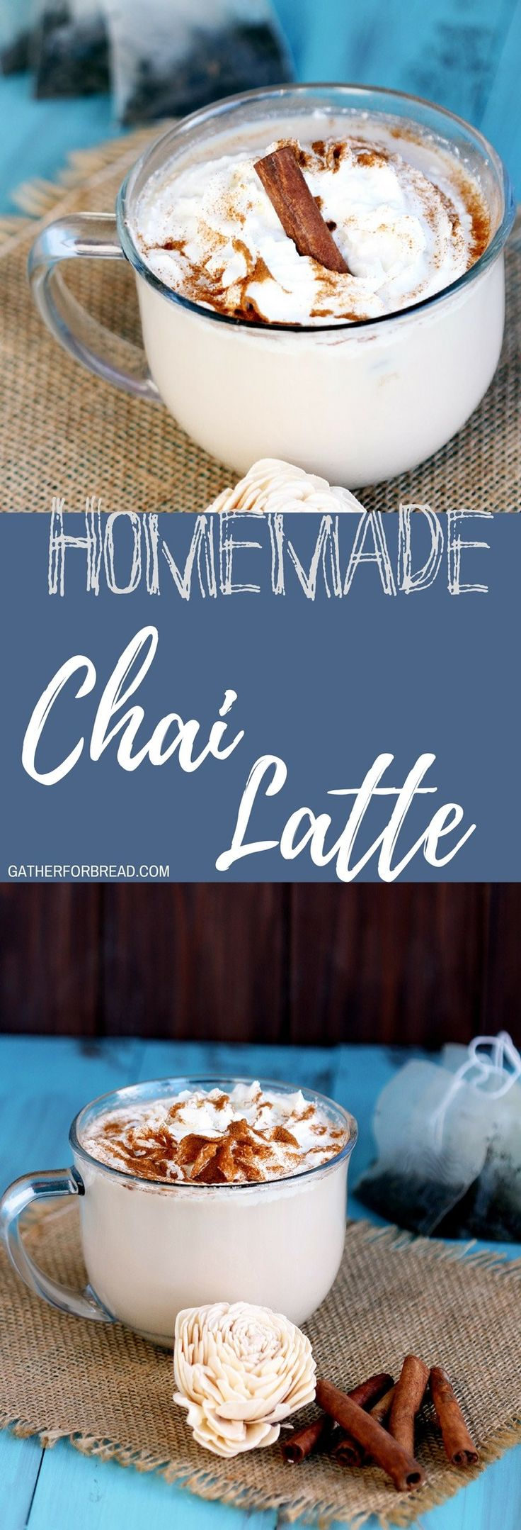 Chai Tea Latte for One – Recipe for DIY Chai tea made at home in the Keurig is delicious. Made with chai teabag, easy and ready in 5 minutes