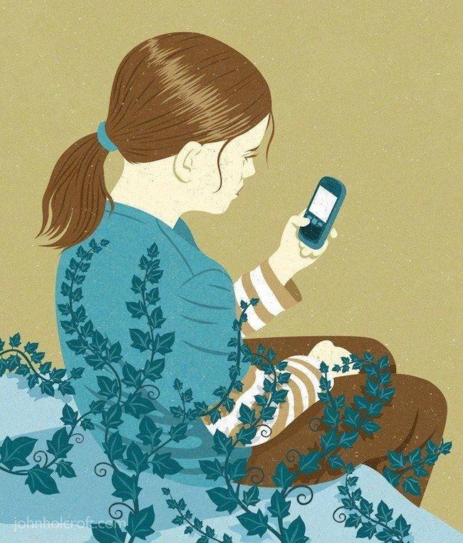 Virtual Hypnosis 30 Awesome Satirical Illustrations That Capture The Flaws Of Our Society • Page 4 of 5 • BoredBug