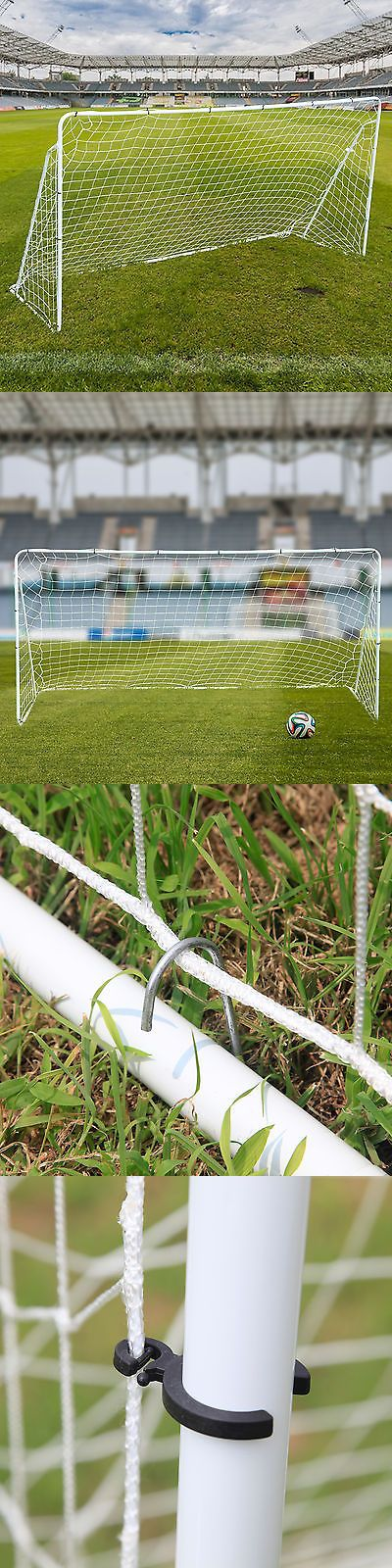 Goals and Nets 159180: Portable Soccer Goal 12 X 6 Football W/Net Straps Anchors Ball Training Sets BUY IT NOW ONLY: $44.9