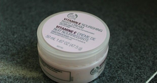 The Body Shop Vitamin E Nourishing Night Cream Review Nightcreamnatural The Body Shop Body Shop Vitamin E Night Creams