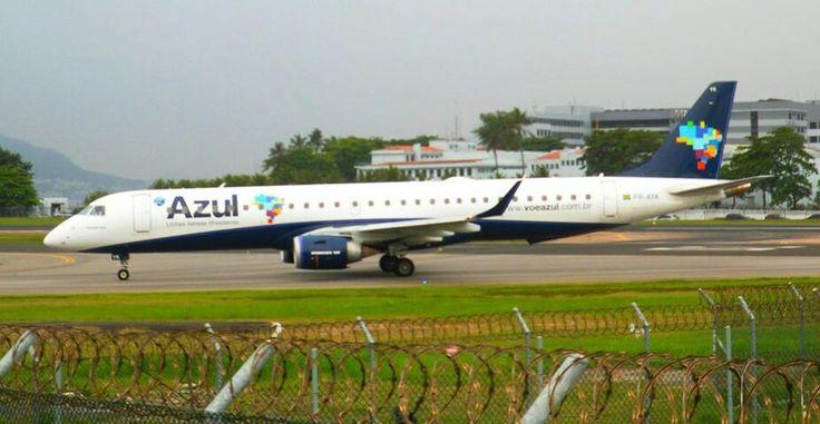Azul Linhas Aereas Embraer E-195