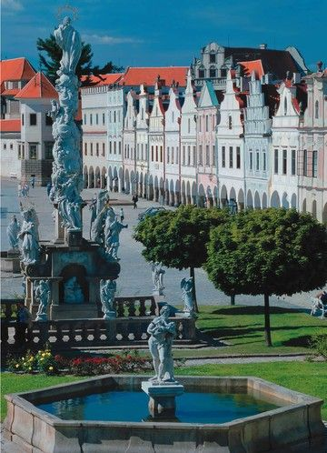 Telč ~ Moravia, Czech Republic Medical tourism in Europe: Health and travel http://www.jmb-active.com/?page=medical_tourism #travel #health