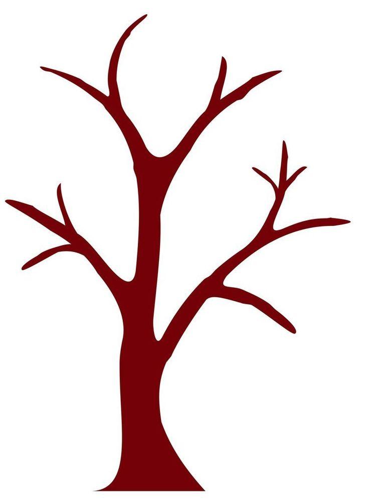 Картинка ствол и ветки дерева