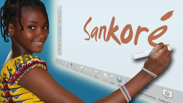 The free, open-source interactive digital teaching software    The Open-Sankoré program is free.    It serves teachers and students.    It makes it possible to teach and learn in a different way.