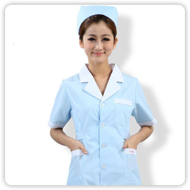 New Summer Women Hospital Medical Doctor Nurse Uniform Dental Clinic Beauty Salon Working Uniform Clothes Short Sleeve Fashion #Affiliate