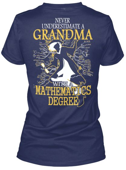Never underestimate a Grandma with a Mathematics Degree
