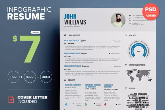 infographic resume by paul