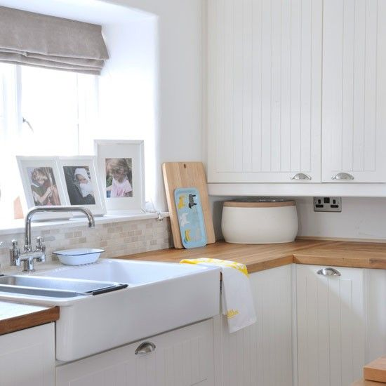 Belfast sink | Country kitchen ideas | Style at Home | housetohome