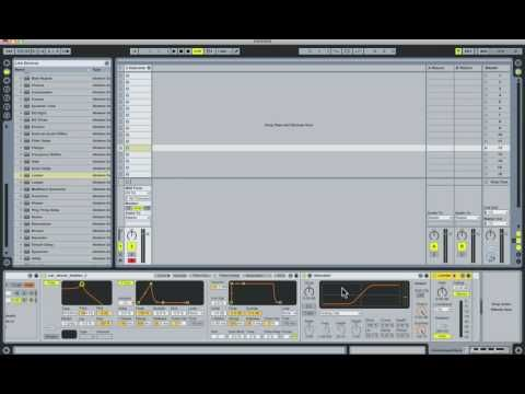 Sound Design in Ableton Live Tutorial - Jungle Bass (Part 1)