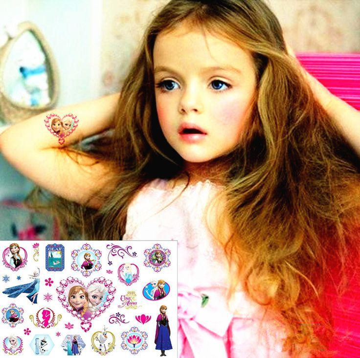 Great item for everybody.   Princess Elsa&Anna Child Flash Tattoo Sticker 17*10cm Waterproof Henna Tatto Summer Style Tatoo Temporary Body Art FREE SHIPPING - US $0.77 http://healthystoreweb.com/products/princess-elsaanna-child-flash-tattoo-sticker-1710cm-waterproof-henna-tatto-summer-style-tatoo-temporary-body-art-free-shipping/