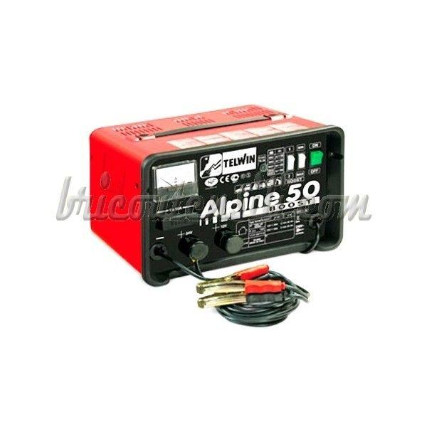 Carica batterie per la carica di batterie ad elettrolita libero (WET) con tensione di 12/24V, con protezione contro sovraccarichi ed inversioni di polarità. Dotato di selettore carica normale, carica rapida (BOOST) ed amperometro.
