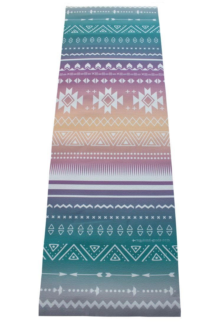 Printed Yoga Mat by vagabond-goods