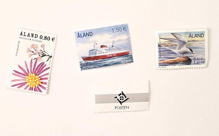 Stamps of Åland Islands.