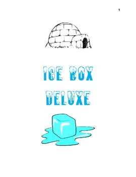 how to make an ice box for school project