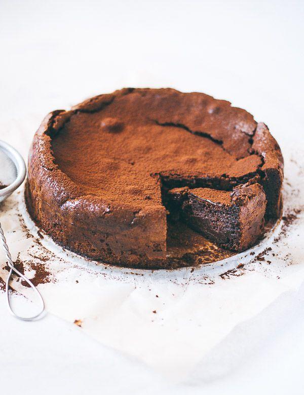 Chocolate almond torte GF