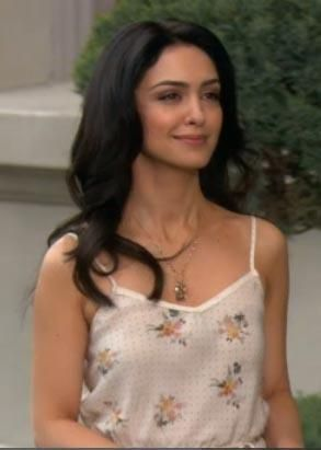 "Nazanin Boniadi | ""How I Met Your Mother""  I had the pleasure of sitting next to her on a plane once.  She was a lovely and gracious woman."