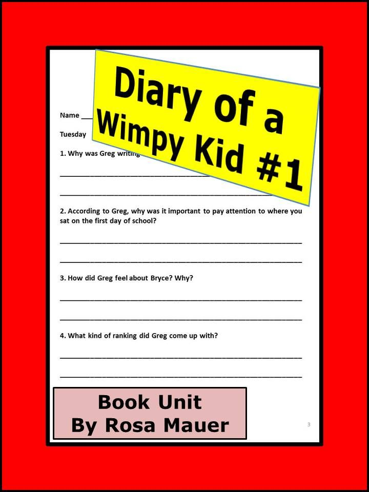 34 best home education diary of a wimpy kid images on pinterest diary of a wimpy kid novel study solutioingenieria Image collections