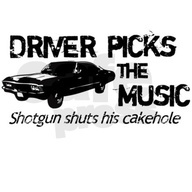 Dean Winchesters motto, and my new car rule. #food