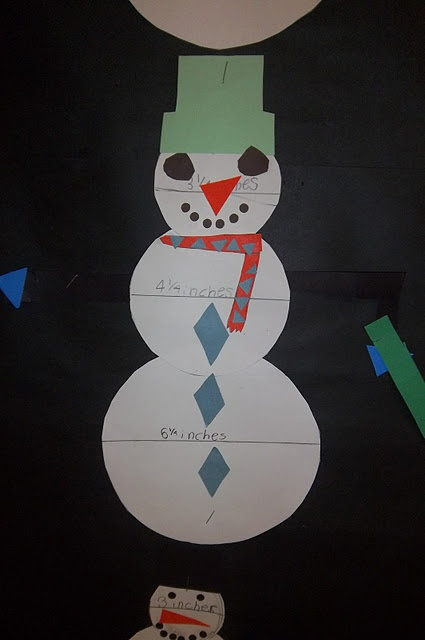 Winter activity that practices math and geometry.