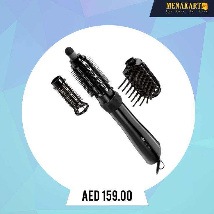 Braun Hair Styler, Steam & Style Pro, 2 Styler & Volumeriser attachments, 1000 Watts #HairStyle #Straightener #HairStraightener #Professionalstyling #online #shopping #menakart