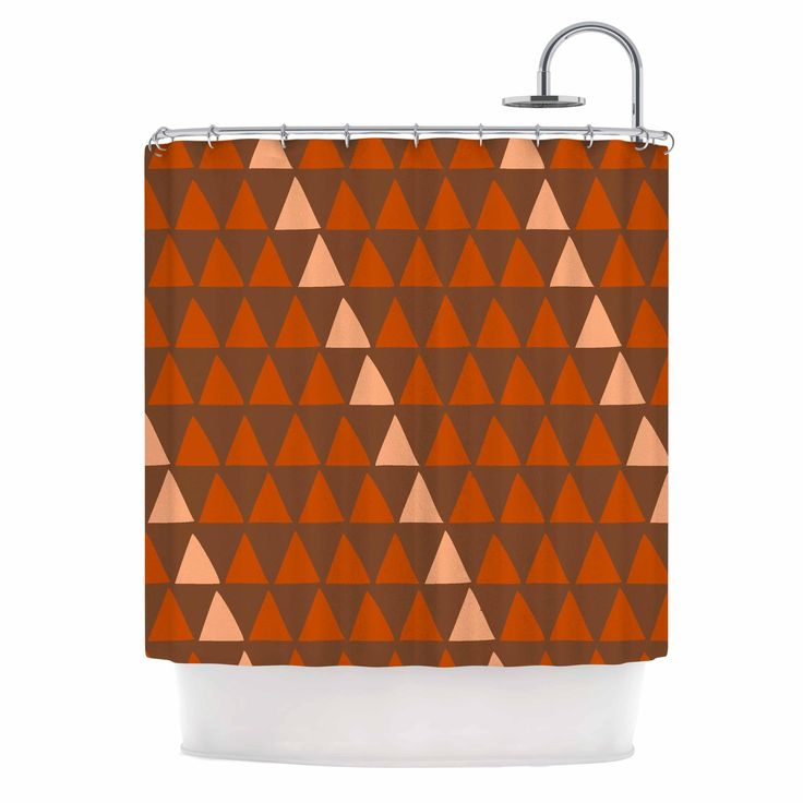orange and brown shower curtain. Kess InHouse Matt Eklund Overload Autumn Brown Orange Shower Curtain Best 25  shower curtains ideas on Pinterest