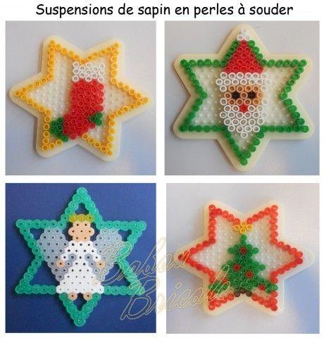 Christmas ornaments hama beads