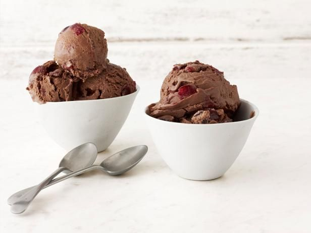 Cherry-Chocolate Ice Cream from #FNMag #IceCream #GrillingCentralFood Network, Chocolates Ice Cream, Cherry Chocolates Ice, Frozen Treats, Ice Cream Recipes, Chocolate Ice Cream, Frozen Desserts, Icecream, Cherrychocol Ice