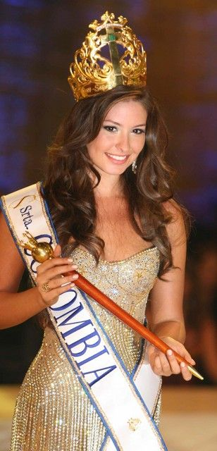 Taliana Vargas Miss Columbia 2008 and Miss Universe first runner up