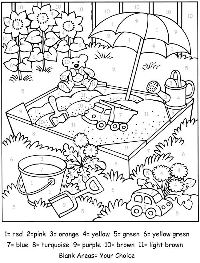 Welcome to Dover Publications | Color by Number for Adults and ...