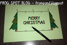 Frog Spot: FREE Christmas Card Template