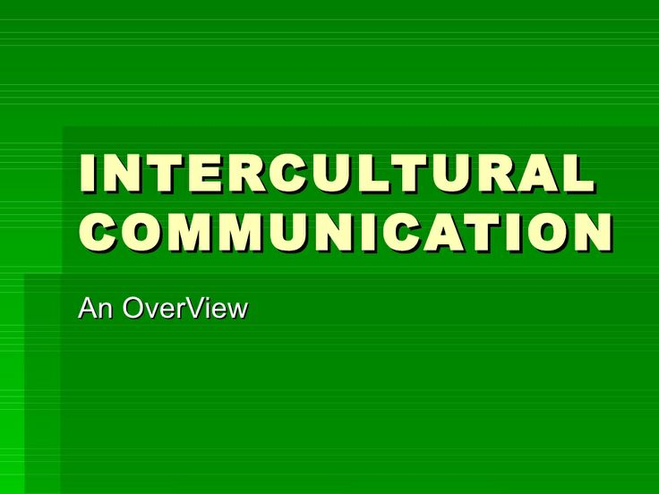 30-intercultural-communication by Arun Jacob via Slideshare #interculturalcommunication