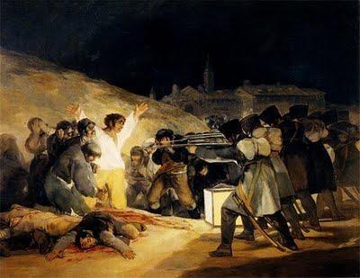 Goya Asesinato 3 de mayo