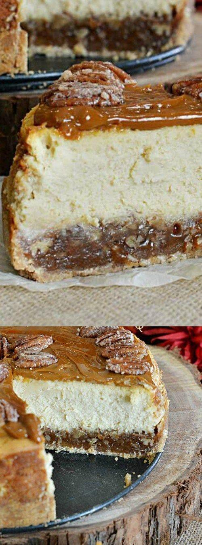 pecan pie chesscake fudge