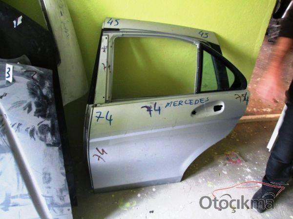 mercedes c280 sol arka kapı çıkma