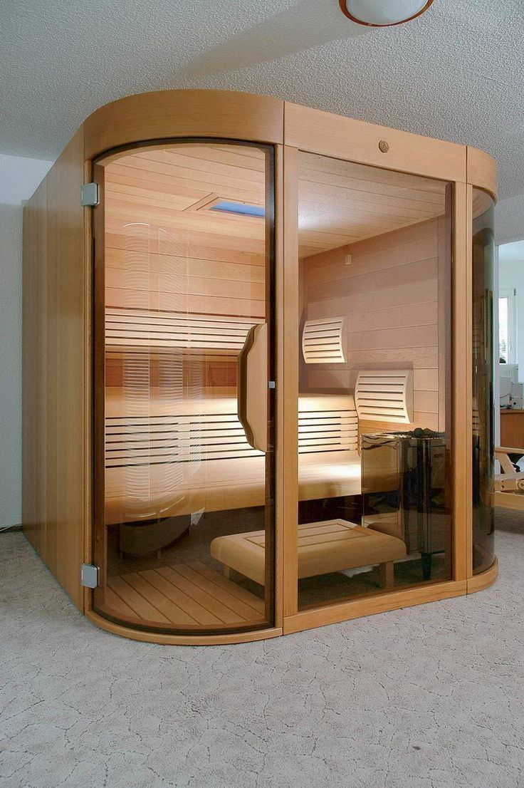 Home sauna design