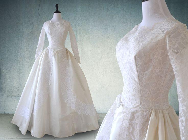 239 besten vintage wedding gowns 2 Bilder auf Pinterest | Retro ...