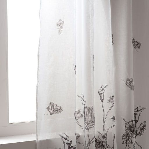 Image of the product Digital printed linen curtain